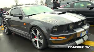 Decatted Ford Mustang GT V8 LOUD REVS