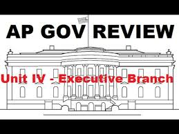 ap gov review cabinets and executive office unit 4 executive