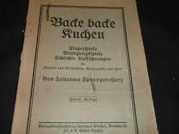 backe backe kuchen fingerspiele bewegungsspiele 1919 ebay