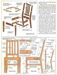 100 Wooden Dining Chairs Plans 587 Contemporary Chair Furniture And Projects