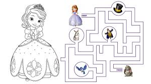 Pin Maze Clipart Disney Princess 2