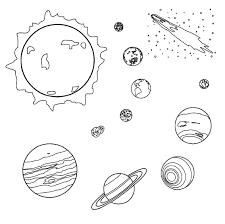 Solar system black and white clipart clipartfest 2 Clipartix