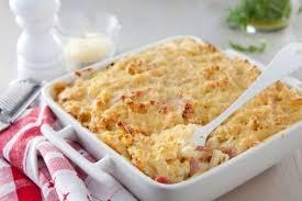 recette de gratin de pâtes au jambon et au fromage rapide