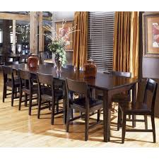 AAmerica Montreal Rectangle Dinner Table W Leaf Extension