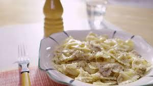 recette de pate au thon pâtes crémeuses au thon cuisine futée parents pressés