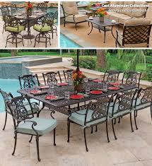 Cast Aluminum Outdoor Sets by Transform Pendant About Remodel Cast Aluminum Patio Table And