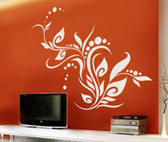 Floral Design For Wall