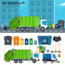 Garbage Truck Flat Illustrations. Garbage Car On The Street ... Colored Trash Bins And Garbage Truck Toys On White Background Stock Big Toy Car Premium Amazon Friction Powered Dickie 13 Air Pump Action Vehicle Buy Online Truck Ride On Little Tikes Daron New York Operating With Dumpster Lights And Bruder Side Loading Toy Galaxy Thrifty Artsy Girl Take Out The Diy Toddler Sized Wheeled 11 Cool For Kids 12 In 1 Laser Pegs Fingerhut Teenage Mutant Ninja Turtles Turtle Tinkers Big W The Top 15 Coolest For Sale In 2017 Which Is