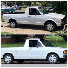 1982 Rabbit Diesel Pickup. Lowered It 2.5 In The Back (drop Plates ...