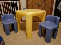Best Little Tikes Table And Chair Set For Sale In Appleton ... Little Tikes Easy Store Pnic Table Gestablishment Home Ideas Unbelievable Bold Un Bright U Chairs At Pics Of And Toys R Us Creative Fniture Tables On Carousell Diy Little Tikes Table And Chairs We Used Krylon Fusion Spray Paint Classic Set Chair Sets Divine Cjrchorganicfarmswebsite Victorian Fancy Beach Adorable Cute Kidkraft Farmhouse With Garden Red Wooden Desk Fresh Office Details About Vintage Red W 2 Chunky