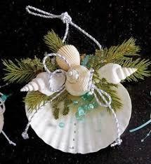 Seashell Christmas Tree Garland by Sea Shells Crafts Ideas Seashell Christmas Ornament Angel