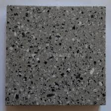 Black Mix White Terrazzo Floor Tile For Interior And Outdoor Stone