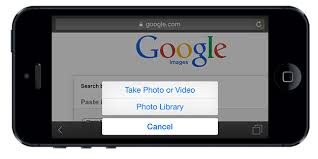 Use Google Search by image on iOS iPhone iPad Android and WP