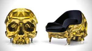 Gold Skull Armchair Is The Perfect Gift For A Supervillain Skull Chair Pattern Plans Lyadirondack Chair Skull Armchair By Harold Sangouard The Ruby Harow Studio Chair Free Shipping Worldwide List Manufacturers Of Harow Buy Get Discount On Download Wallpaper 3840x2160 Nikki Sixx Image Haircut Between Mirrors Betweenmirrors S Instagram Medias Instarix To Satisfy Your Inner Villain Bored Panda Grgory Besson Wwwgreghomefr Executes A Brilliant Design For Gothic Themed