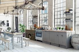 Mountain Kitchen Interior Landhausstil Küche 117 411 Landhausstil Fototapeten Leinwandbilder Und