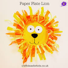 Our Paper Plate Lion is not only cute but really easy and fun to