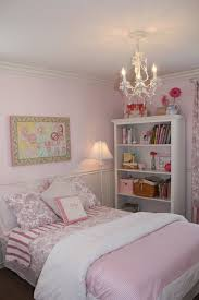 A Little Girls Pink Bedroom