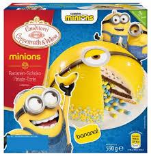 coppenrath wiese minions bananen schoko pinata torte torte tk 590g kaufen bei lieferello