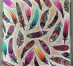 Enchanted Forest Johanna Basford Feathers