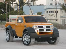 100 Compact Pickup Trucks Dodge M80 Concept Concept Small Pickup Trucks