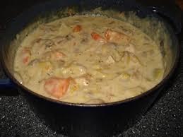 recette de cuisine ancienne recette blanquette à l ancienne au poulet 750g