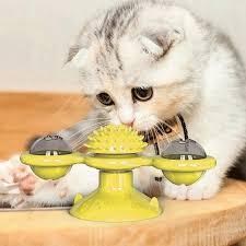 Was Kostet Eine Kã Che Leicht Wind Mühle Spielzeug Für Katzen Puzzle Wirbelnder