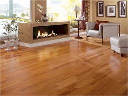 Shiny Hardwood Floors In A Modern Living Room