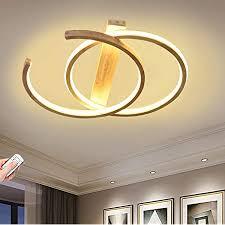 led deckenleuchte holz dimmbar runde wohnzimmer deckenle modern deko schlafzimmer le ultradünne ring decke esszimmer flur leuchte