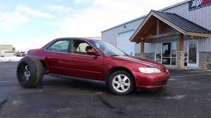 100 Truck Wheels And Tire Packages Honda Accord With Huge OffRoad S Doesnt Look Practical