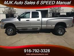 2003 Dodge Ram 3500 Laramie 5.9 Cummins Diesel 4x4 6 Speed Manual ...