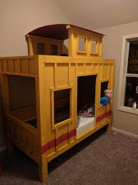 Bunk Bed Plans Pdf by Ana White The Caboose Bunk Bed Diy Projects