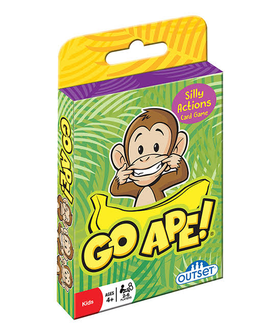 Outset Media Card Games - Go Ape Card Game