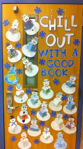 Chill Out With A Good Book MyClassroomIdeas Classroom Decorating Ideas Door Decorations Winter