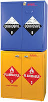 Flammable Safety Cabinet 30 Gallon by Flinn Jumbo Stacking Cabinet Acids