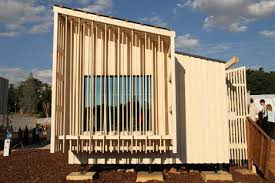 canap駸 le corbusier gorgeous woodsy entry in solar decathlon wins prize