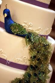 Peacock Wedding Cake Ambrosia Cake Creations