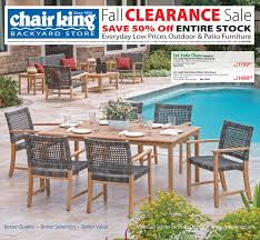 King Soopers Patio Furniture by Patio Furniture Discount Patio Furniture Sale Chair King