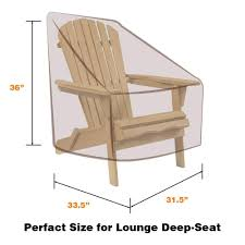 Vailge Patio Adirondack Chair Covers Heavy Duty Patio Chair ... Outdoor Chairs Toddler Adirondack Chair Modern Amazon Plans Cushions Covers Willow Eucalyptus Oak Heavyduty Cover Impressive Lowes Your Hrh Designs Reviews Wayfair Hrh Vailge Patio Heavy Duty Waterproof Lawn Fniture Standard 1 Packbeige Best Back To For Home The Amazing Of Seat House Remodel Making Black