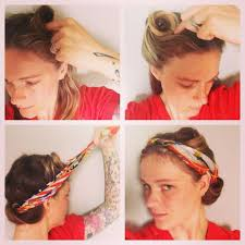 Lazy Girl Vintage Hairstyle