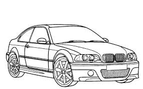 Coloring Pages Cars Bmw Car M Type Best Place To Color