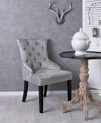 details zu samtstuhl polsterstuhl grau esszimmerstuhl vintage chair samt retro stuhl ring