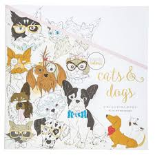 Cats Dogs Coloring Book
