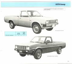100 Plymouth Arrow Truck The 1970 Hamtramck Registry 1979 Dealership Data Book