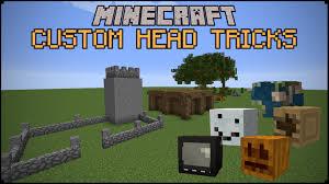 Minecraft Custom Head Tricks