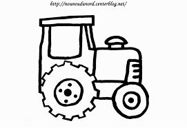 Coloriage Tracteur Imprimer With 37 Beautiful Coloriage De Tracteur