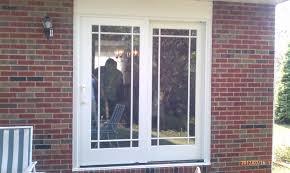 Patio Door Blinds Menards by Door Inspiring Back Door Design Ideas With Pella Sliding Doors