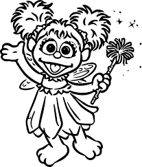 Sesame Street Colouring Pages Printable Coloring To Print Characters Cad Page Baby Full Size