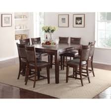 Members Mark Audrey Counter Height Table And Chairs 9 Piece Dining Set