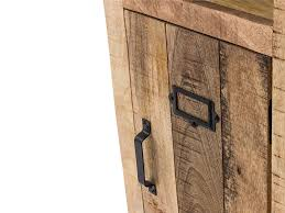 woodkings hochschrank pune badmöbel holz rustiakl massiv