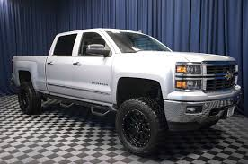 Used Lifted 2014 Chevrolet Silverado 1500 LTZ Z71 4x4 Truck For With ...